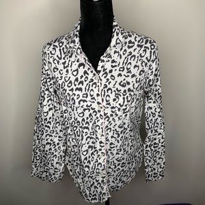 Victoria's Secret Cheetah Pajama Set Small